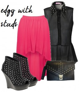 edgy with studs