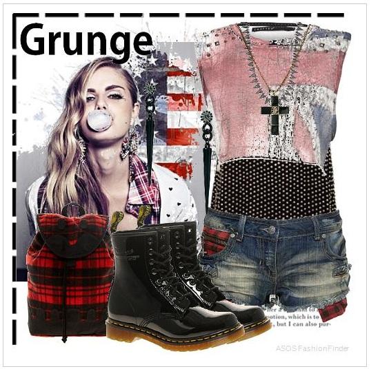 Grunge outfit fashion finder