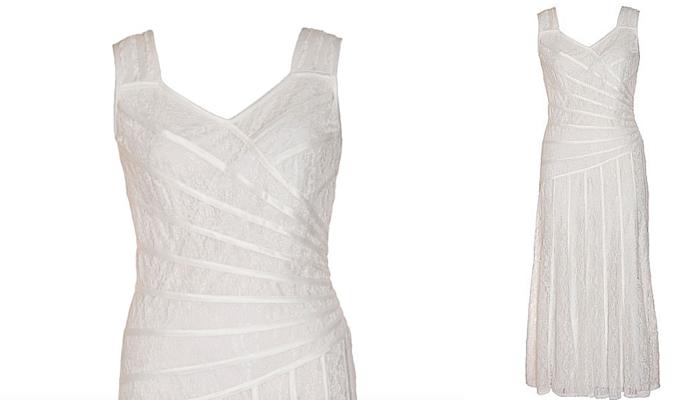 Chesca Plus Size Lace Bridal Dress
