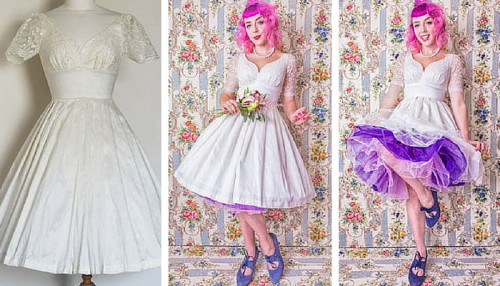 Silk Dupion Lace Sweetheart Audrey Wedding Dress