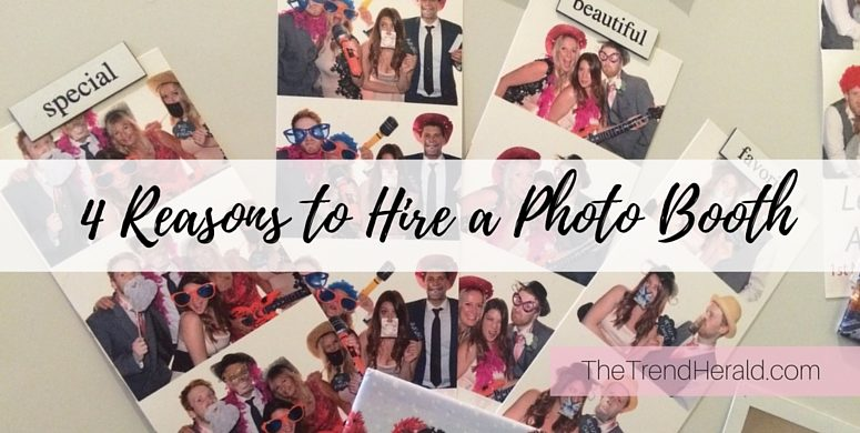 Reasons to hire a photo booth